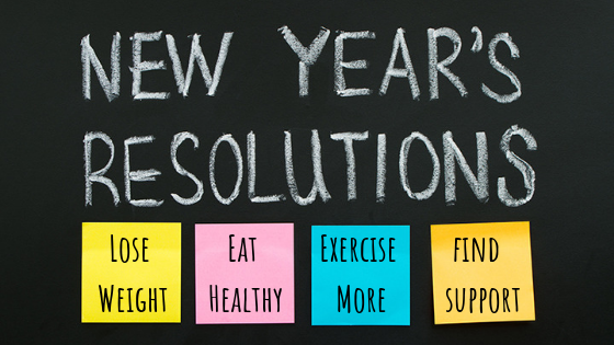 new year's weight loss resolutions success